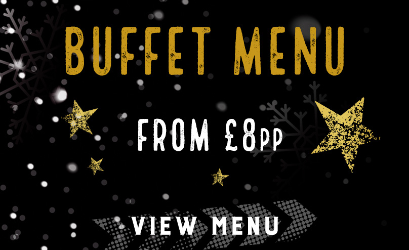 Festive buffet menu at The Oak