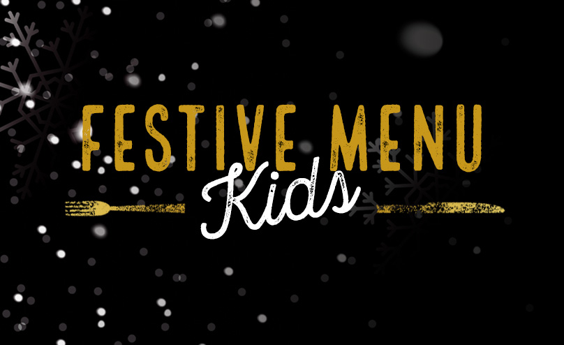 Festive Kids Menu at The Oak