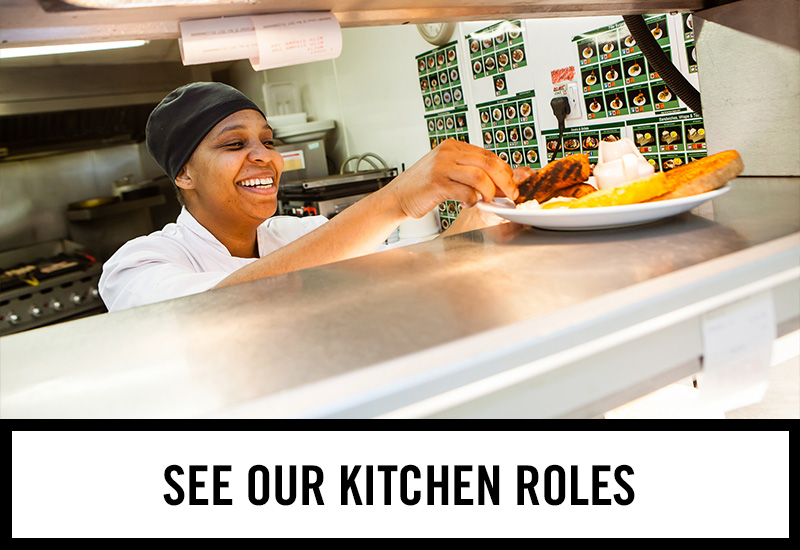 Kitchen roles at The Oak